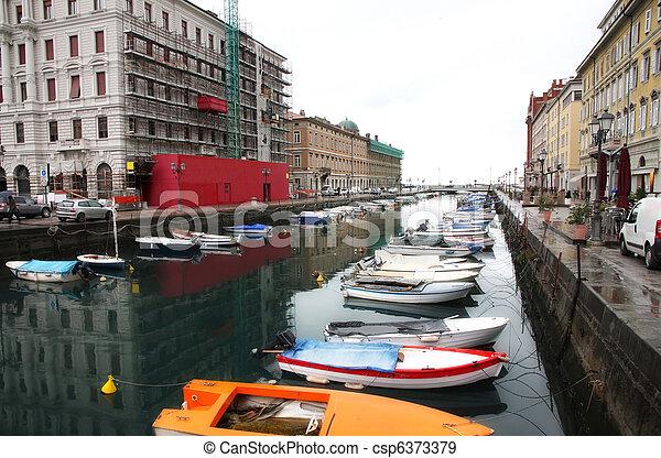 Trieste, Italia - csp6373379