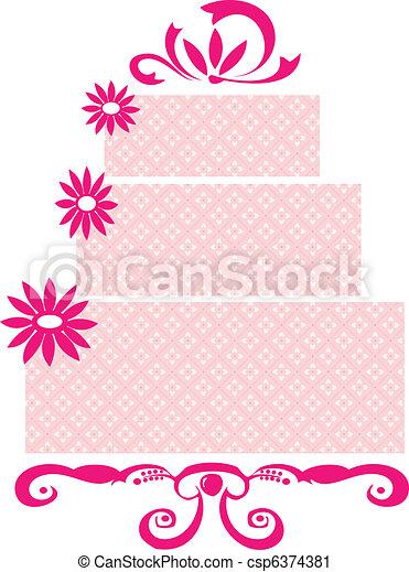 Weeding Cake  - csp6374381