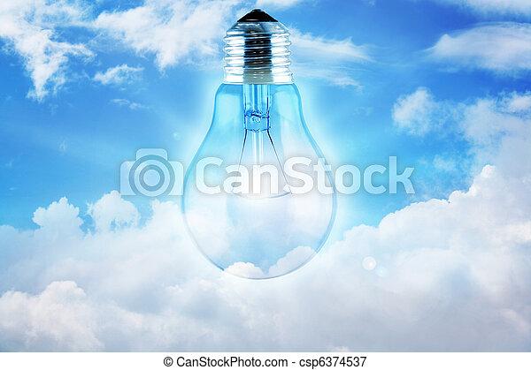 Daylight bulb - csp6374537
