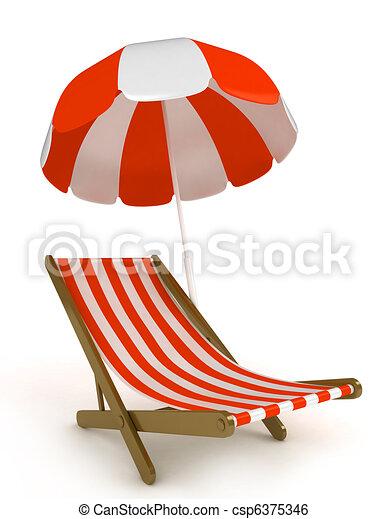 Beach Chair - csp6375346