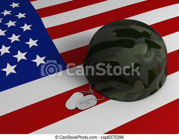 Memorial Day - csp6375398