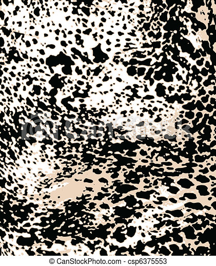 abstract animal skin background - csp6375553