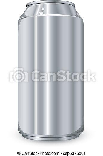 Aluminum jar - csp6375861