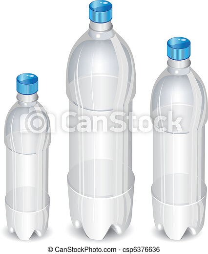 Tree plastic bottles - csp6376636