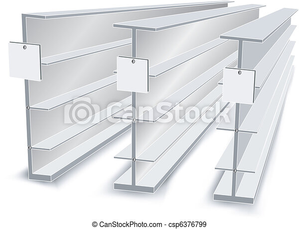 Shelves in store - csp6376799