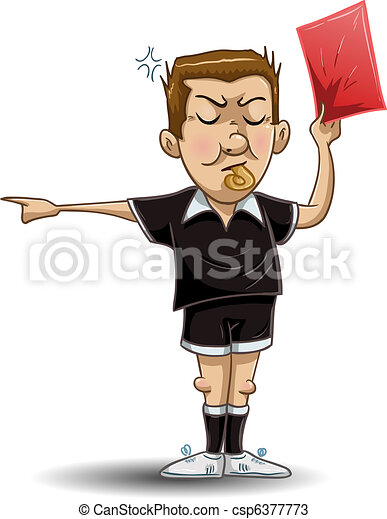 Clip Art Referee Clipart referee illustrations and clip art 3717 royalty free soccer holds red card illustration of a soccer