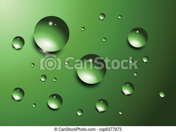 Water drops  - csp6377973
