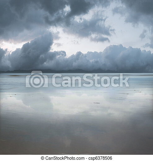 Beautiful seascape - csp6378506