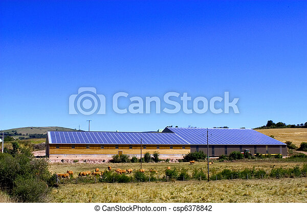 Photovoltaic power plant - csp6378842