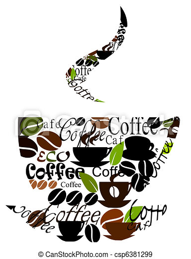 Original coffee cup design - csp6381299