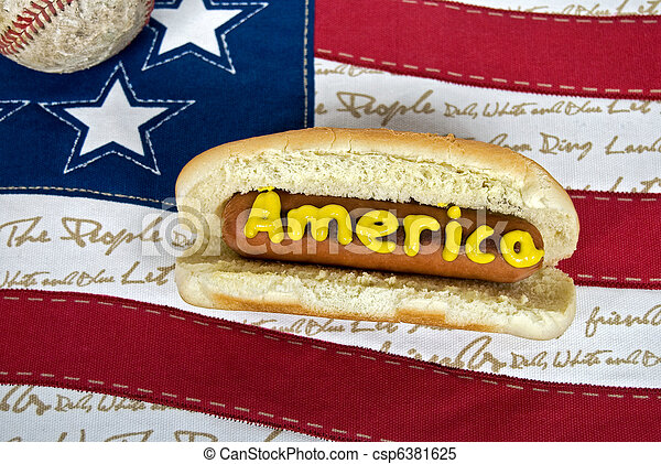 American Food - csp6381625