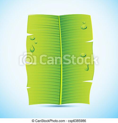 Banana Leaf Illustration Banana Leaf Invitation Letter