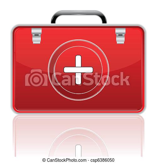 First Aid Box - csp6386050