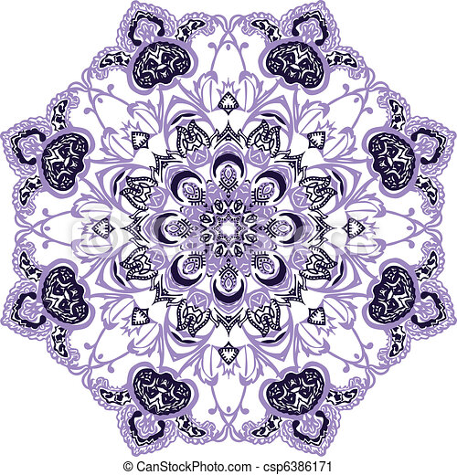Mandala Design  - csp6386171
