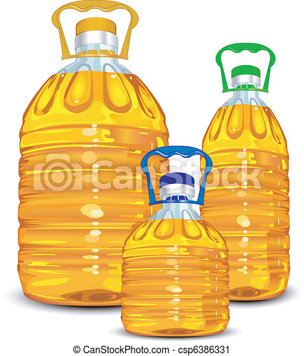 Oil bottles - csp6386331