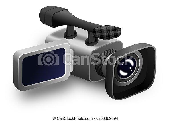 Video Camera - csp6389094