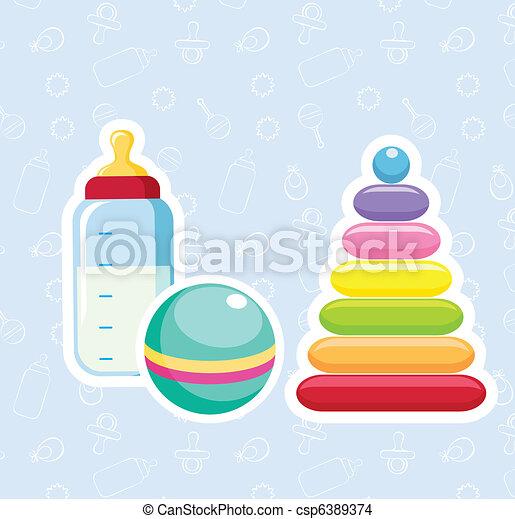 Baby toys - csp6389374