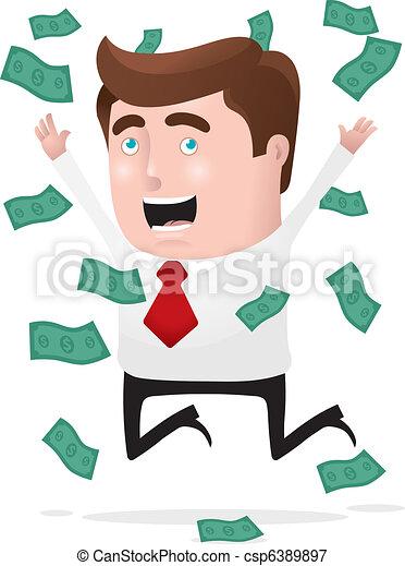 I Am Rich! - csp6389897