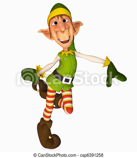 christmas elf - csp6391258