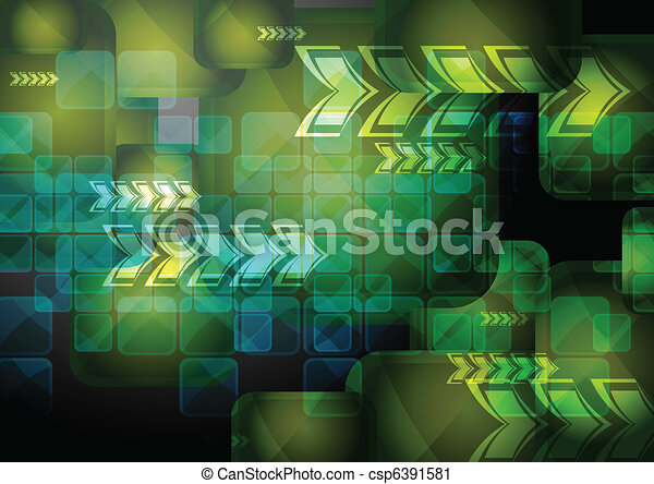 Vibrant technical backdrop - csp6391581