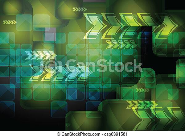 Vibrant technical backdrop - csp6391581