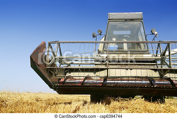 Agriculture - Combine - csp6394744