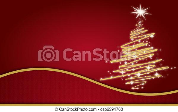 christmas card - csp6394768