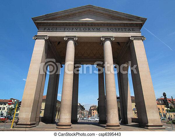 Porta Ticinese, Milan - csp6395443