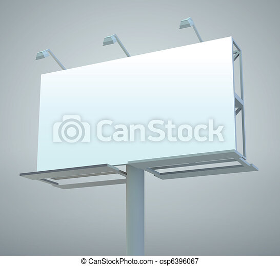 Outdoor billboard - csp6396067