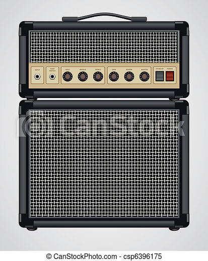 Guitar Amplifier - csp6396175