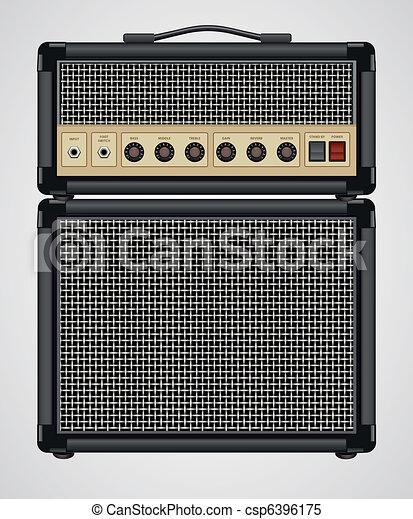 Guitar Amplifier - csp6396175