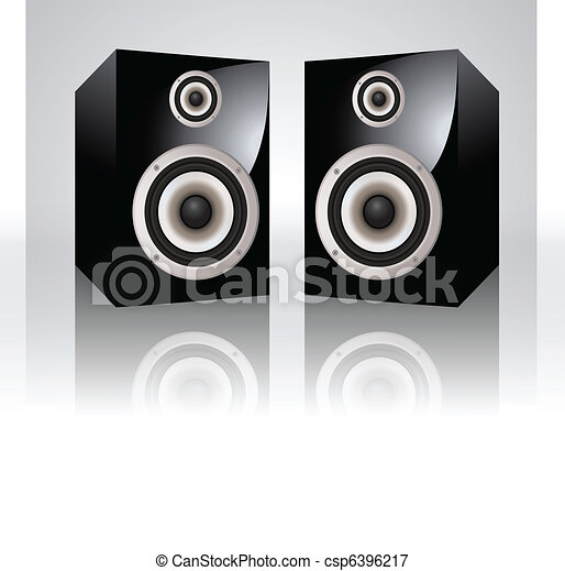 Vector Audio Speakers - csp6396217