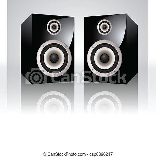 Vector Audio Speakers - csp6396217