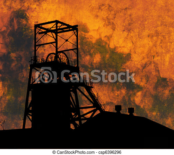 Mining Industry - csp6396296