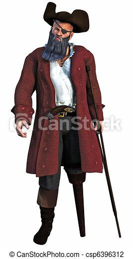 The Pirate Captain - csp6396312