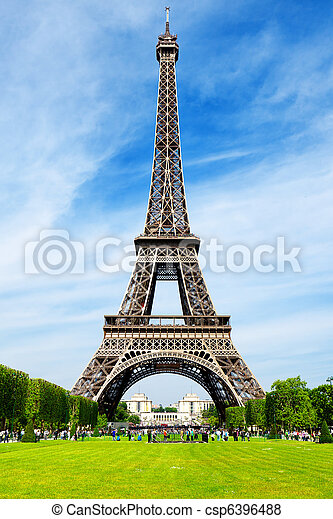 The Eiffel Tower - csp6396488