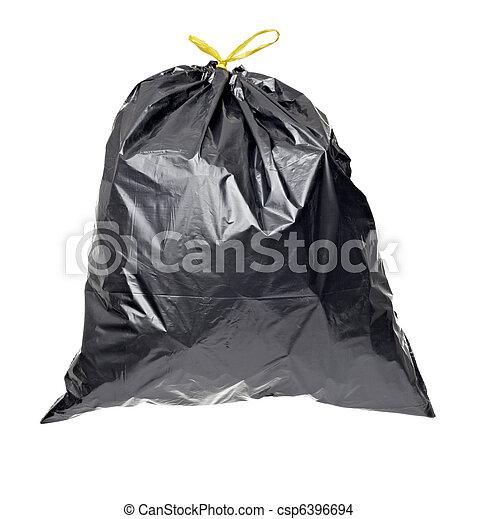 garbage bag trash waste - csp6396694