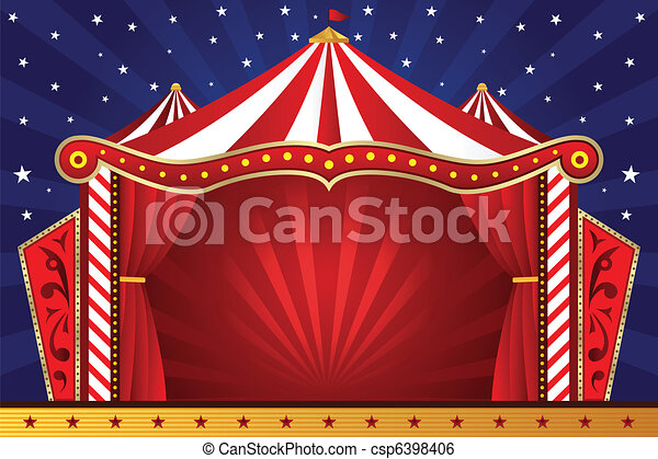 Circus background - A ...