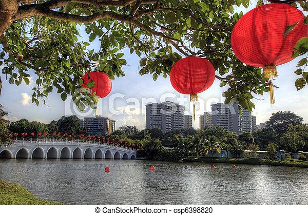 Singapore Chinese Garden - csp6398820