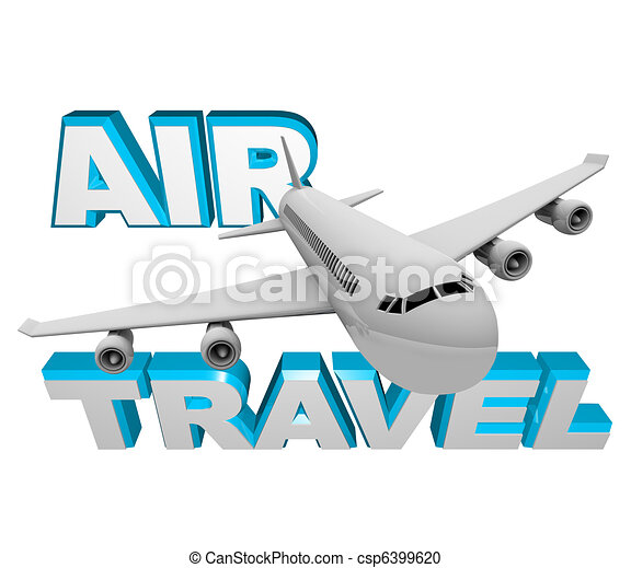 Air Travel - Airplane Flight for Vacation or Business - csp6399620