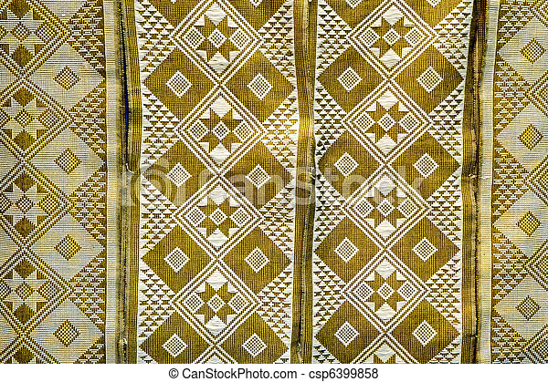 beautiful african cloth with rich pattern - csp6399858