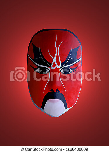 mask of chinese opera - csp6400609
