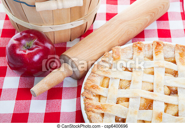All American Apple Pie - csp6400696
