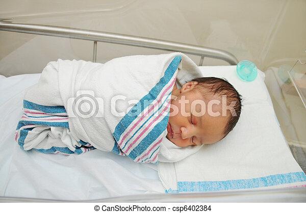 Healthy Newborn Infant Hospital - csp6402384