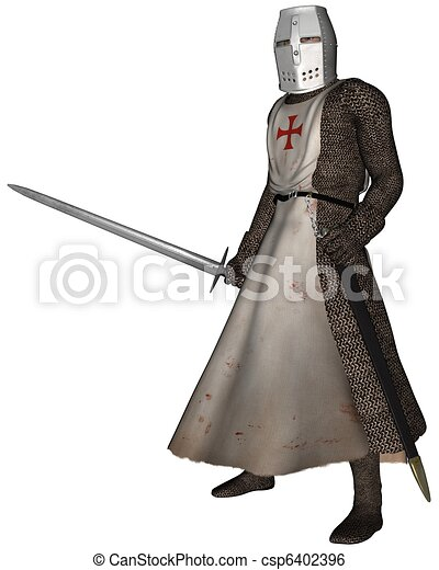 Early Medieval Templar Knight 6402396 on Castle Home Plans Medieval
