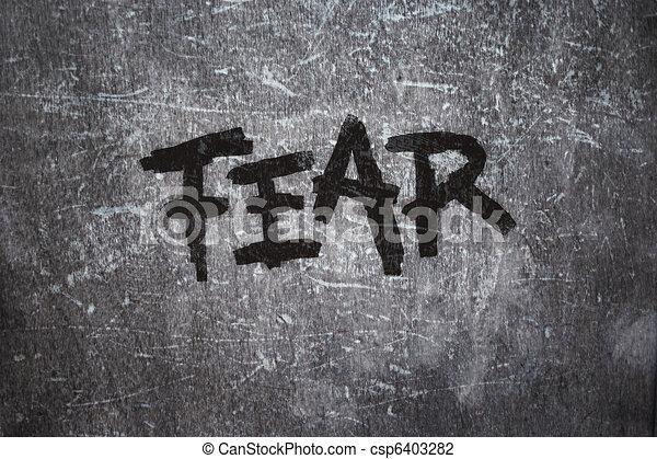 fear - csp6403282