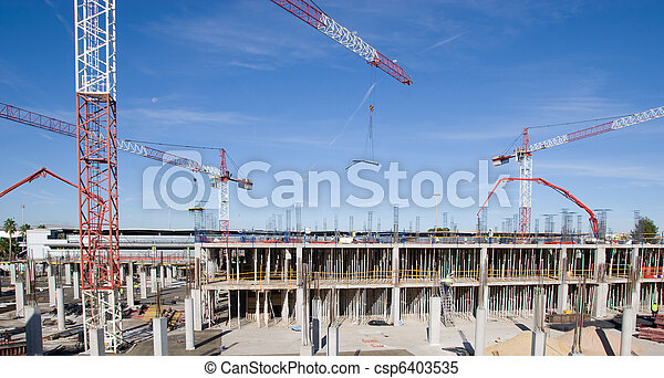 Construction Site - csp6403535