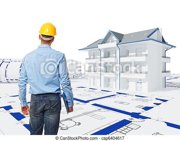 engineer at work - csp6404617