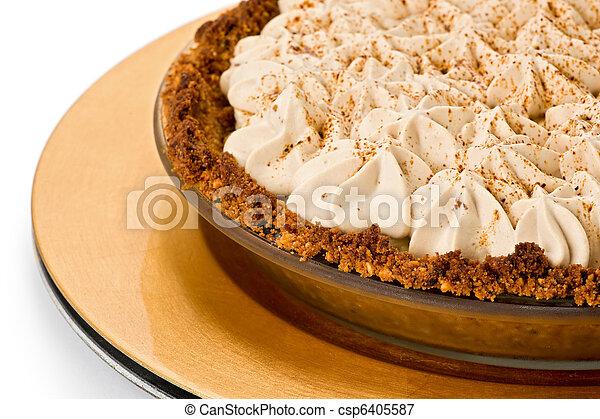 Banana Toffee Pie - csp6405587