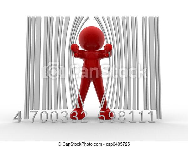 Bar code - csp6405725